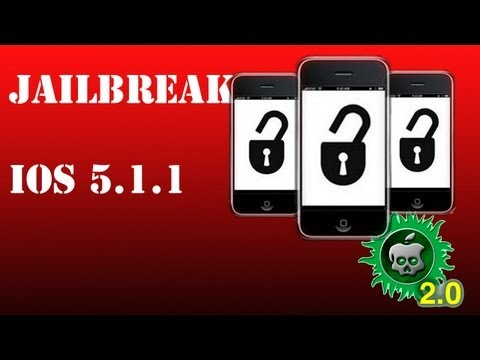 Como fazer Jailbreak Untethered no iOS 5.1.1/iPhone 3GS/4/4s iPad 1/2/3 iPod touch 3G/4G