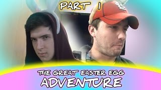 BATHROOM SURPRISE - The Great Easter Egg Adventure 2014 PART 1 of 4