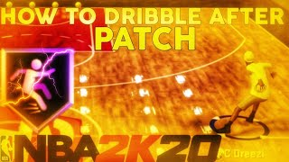 HOW TO MOMENTUM BEHIND THE BACK ON NBA 2K20! HOW TO DRIBBLE AFTER PATCH 1.03! 2K20 DRIBBLE TUTORIAL!