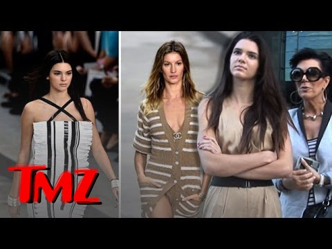 Kendall Jenner Vying for Gisele's Modeling Crown!