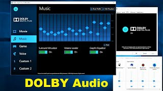 How to Install Latest Dolby Audio on Windows 10 Version 1803