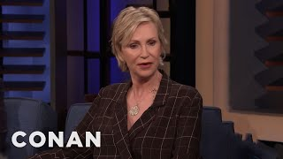 Jane Lynch Laughs At Her Pain - CONAN on TBS