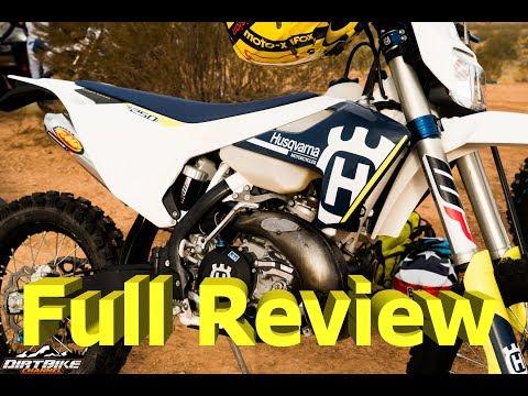 Husqvarna TE250i Full Review   2 Stroke EFI Dirt Bike!