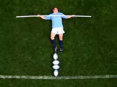 Josh Lewsey vs Peter Crouch Powerade Commercial