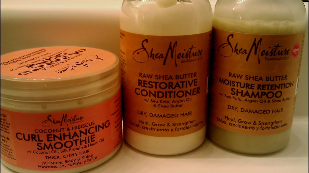 Shea Moisture Products Review Demo Youtube
