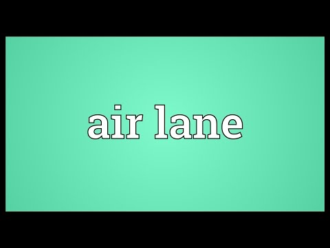 Header of air lane