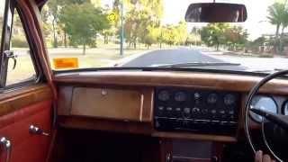 1964 Jaguar Mark 2, 3 4Liter on the Road