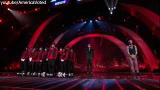 Eliminations 2 - Andrew De Leon and Academy of Villains ELIMINATED America's Got Talent - AGT 2012