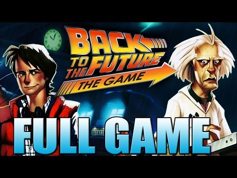 Back to the Future Game - FULL GAME! (Movie / All episodes)
