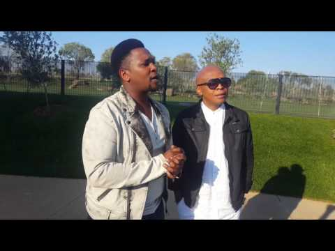 Behind the scenes: Mthande music video