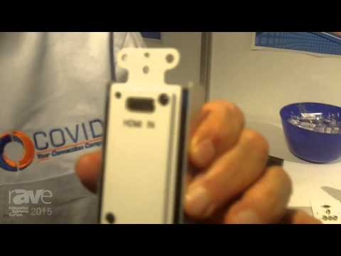 ISE 2015: Covid Presents Their HDBaseT Wall Plate