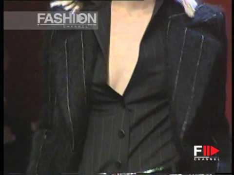 """Junko Shimada"" Autumn Winter 1996 1997 Paris pret a porter woman by FashionChannel"