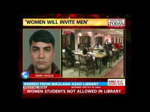 Women denied access to Maulana Azad library at Aligarh Muslim University