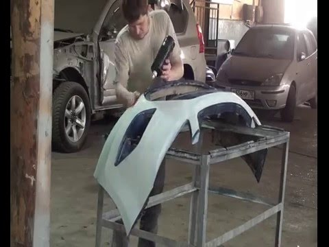 Покраска бампера своими руками форд фокус