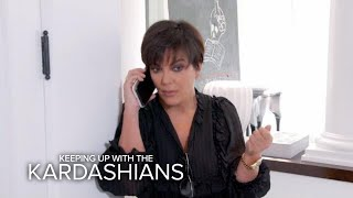 KUWTK | Kris Jenner Receives Emergency Call From Kendall | E!