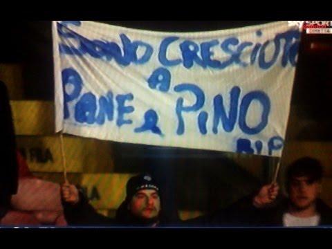 Pino Daniele il saluto di tutti i tifosi da Sky Sport - Napoli Juventus 1 3