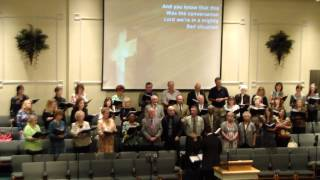 Macland Baptist Church Choir sings Big Mighty God