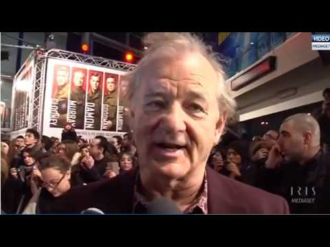 Bill Murray (In Italian) Talks Ghostbusters 3.