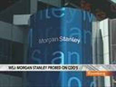 Morgan Stanleys Gorman Denies Bank Misled CDO Buyers: Video