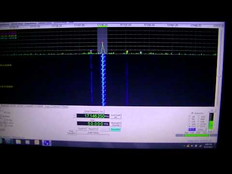 HF unknown data type 17146.25 kHz