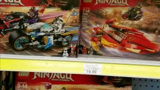 LEGO Ninjago Winter 2018 Set Haul at Toys R Us