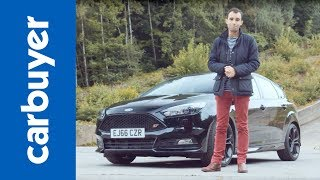 Ford Focus ST review 2017 - James Batchelor - Carbuyer