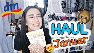 DM HAUL Januar 2017! 💜 Pflege, Make Up .. - Ebru Acikyol