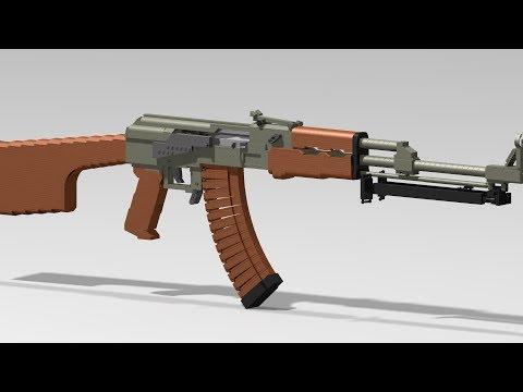 Custom Lego Gun MOC: LIVE 2017 Reviews