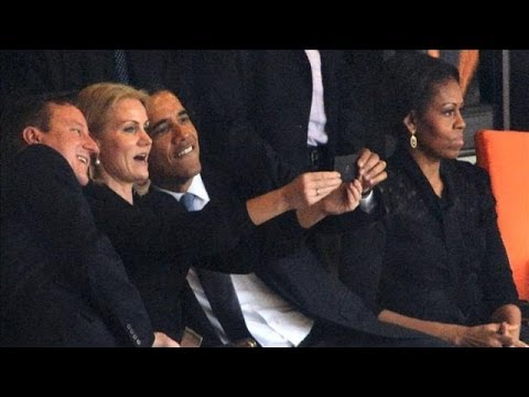 What's the Etiquette for Funeral 'Selfies'?
