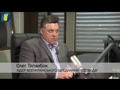 """Олег Тягнибок в етері телеканалу """"НТА"""" та радіо """"Вголос"""""""