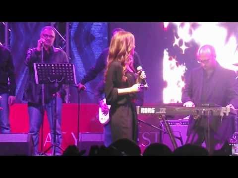 Mohamed Mounir & Nancy Ajram Concert in Dubai Shopping Festival 24/01/2014 part 6
