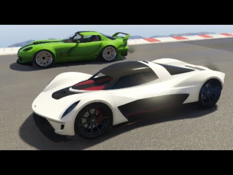 GTA 5 Top Speed Drag Race (Vagner vs. Banshee 900R)