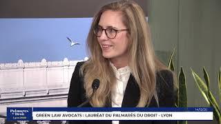 Décideurs du Droit - Green Law Avocats - Lauréat du Palmarès du Droit - Lyon 2020