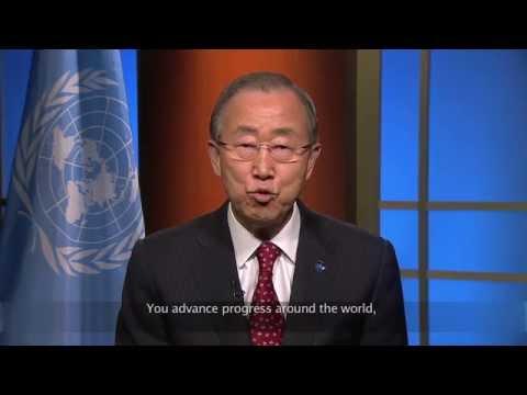 UN Secretary General Ban Ki-moon congratulates IPC on 25th anniversary
