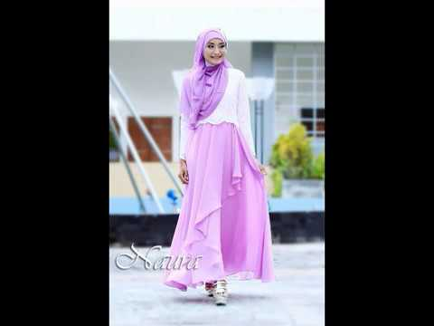 Perpaduan Warna Baju Ungu Dan Hijab Paling Cocok Modis