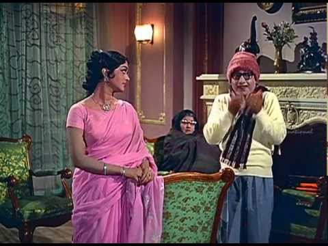 Anbe Vaa - Saroja Devi Informs His Dad video
