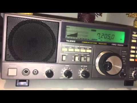 Christmas Holiday 2015 DX: Sudan Radio 7205 KHz