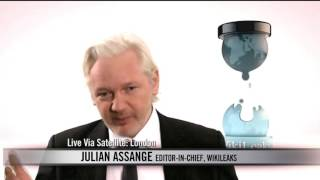 Real Time with Bill Maher: Julian Assange Interview (HBO)
