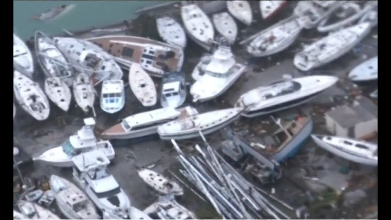 Florida residents stocking up on water & gas, preparing to flee Hurricane Irma