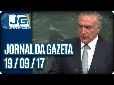 Jornal da Gazeta - 19/09/2017