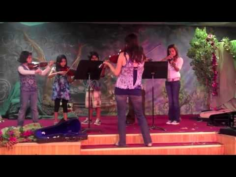 "The City School L.A. violins ""William Tell"""
