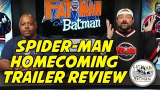 SPIDER-MAN HOMECOMING TRAILER REVIEW