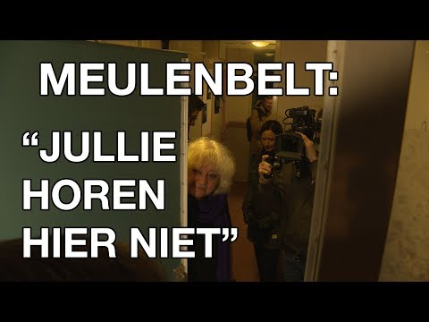 """GSTV. Bij1-kandidaat Anja Meulenbelt tegen journalisten: """"Jullie horen hier niet"""""""