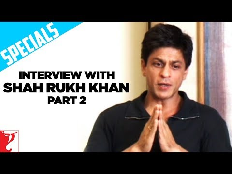 Interview With Shah Rukh Khan - Part 2 - Rab Ne Bana Di Jodi