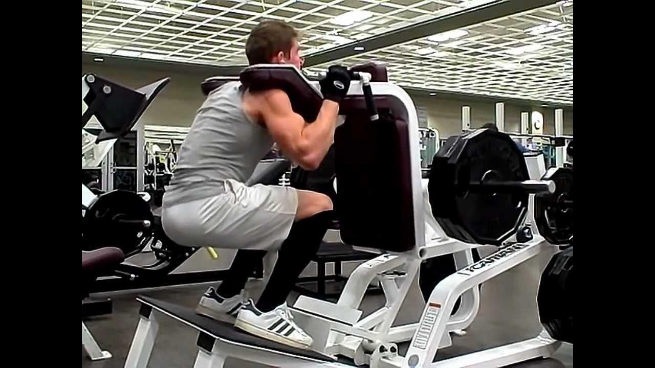 magnum squat machine