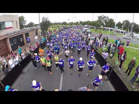 MMB | Media Maraton de Bogotá 2015 | Drone Sunrute