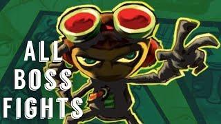 Psychonauts All Boss Fights (HD)