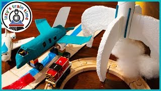 Thomas and Friends | DIY AIRPLANES, ROCKETS, AND RUNWAYS! Fun Toy Trains for Kids!