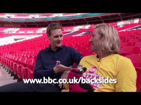 Day 4 Dan Walker supports the boys | Sport Relief Battle of the Backsides