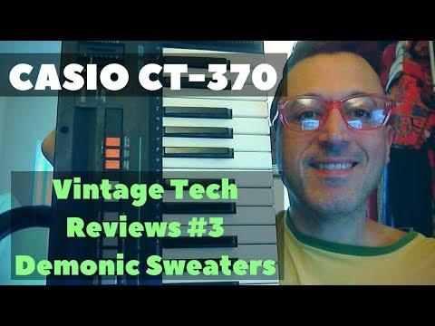 1987 Casio Casiotone CT370 Keyboard - Vintage Tech Reviews #3